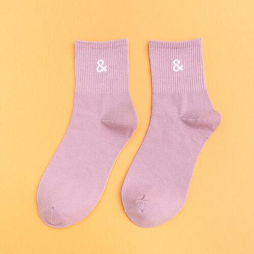 Korean Style Funny Women Girls Autumn Beautiful Punctuation Mark Funny Socks