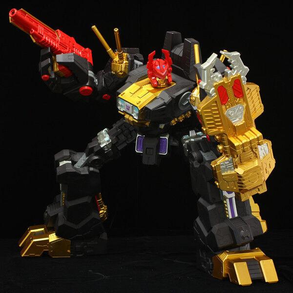 Japón Raro Sentinel Transformers plena acción Negro Zarak transformación no