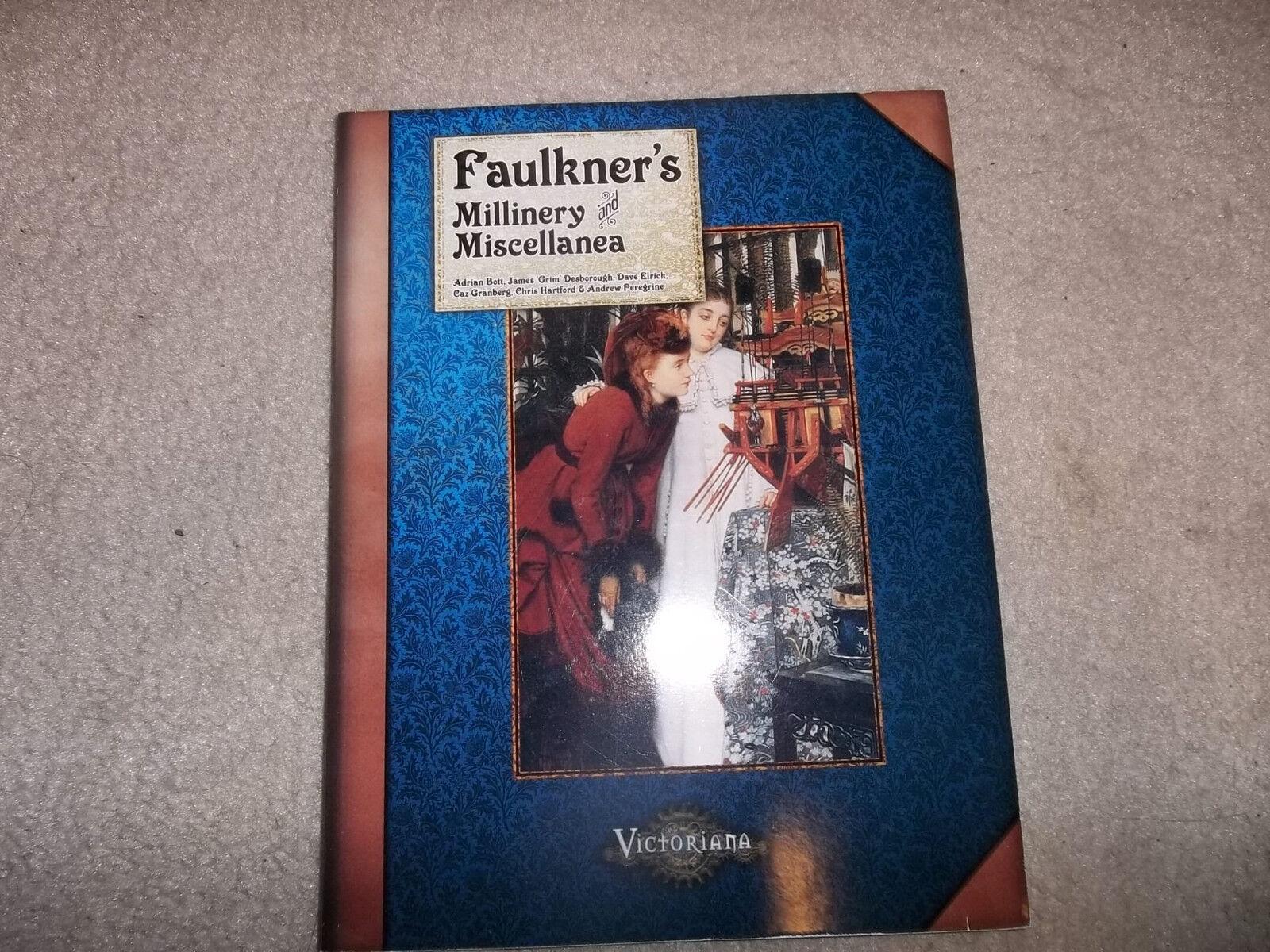 Victoriana  RPG Faulkner's Millinery & Miscellanea  economico