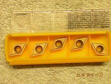 x5 Kennametal carbide inserts DCMT 11T302LF  KC730 new