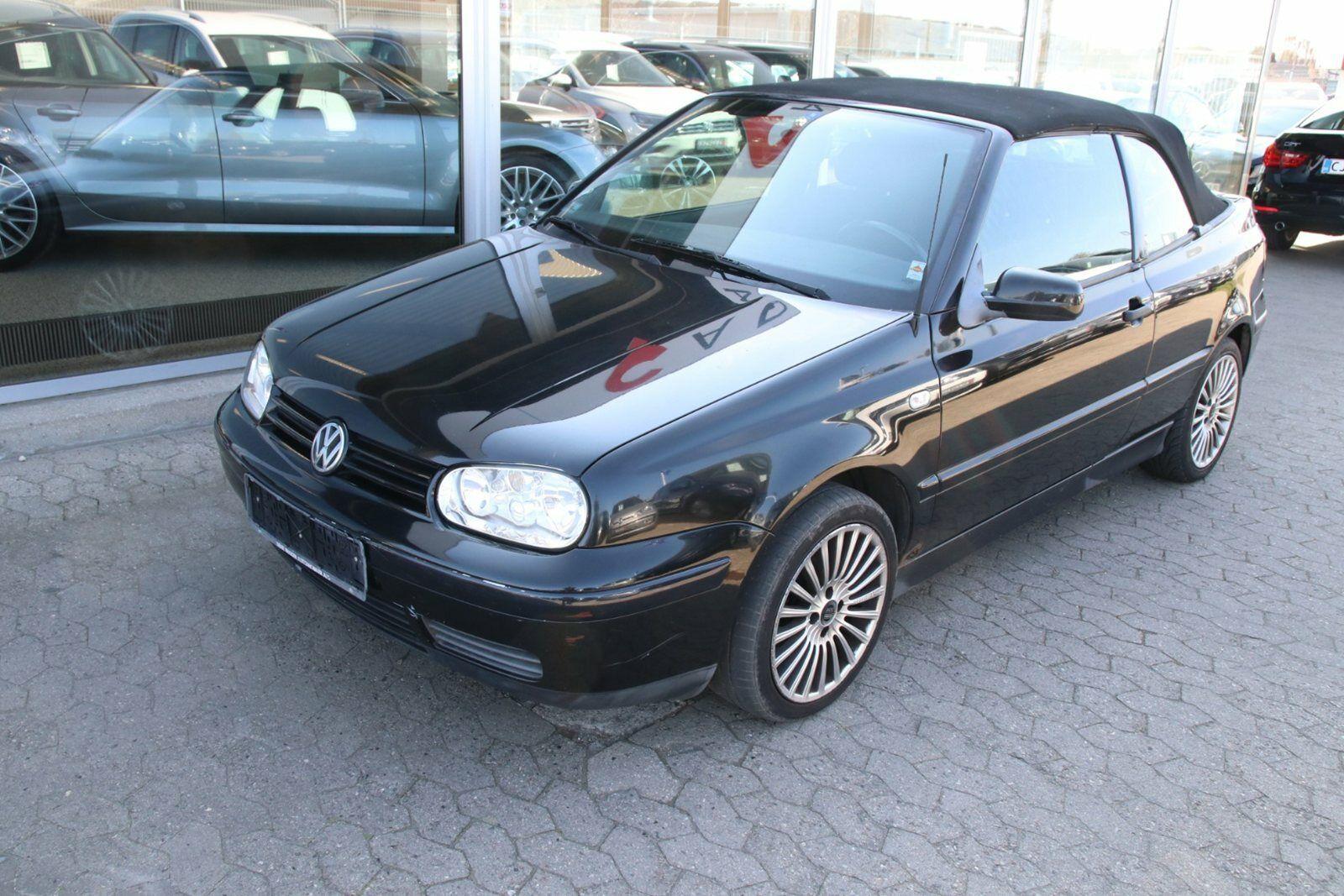 VW Golf IV 1,6 Comfortline Cabriolet 2d - 34.900 kr.