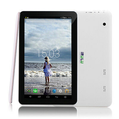 "iRULU Tablet PC 10.1"" New Google Android 5.1 Lollipop 8GB 10 Inch BT w/ Earphone"