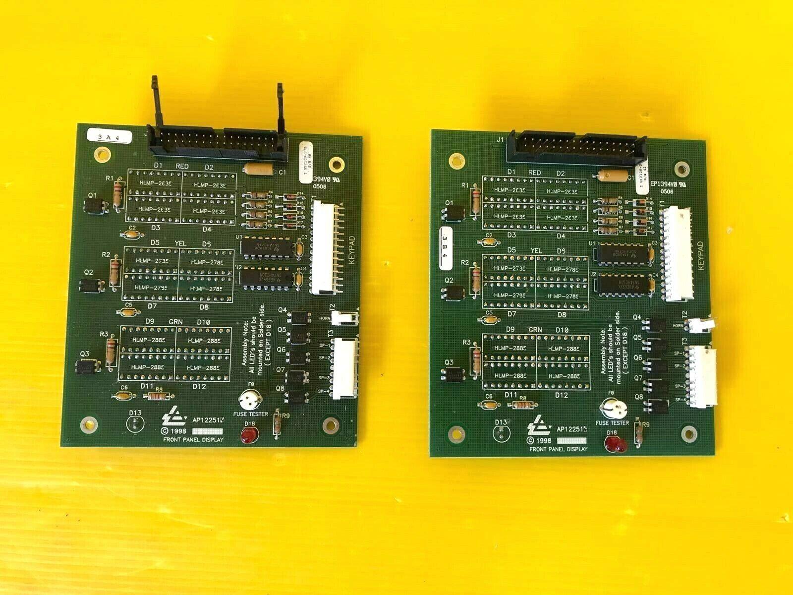 2PCS Air Products AP12251 Front Panel Display Board PCB