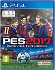 Pes 2017 PS4 Pro Evolution Soccer PlayStation 4 Konami