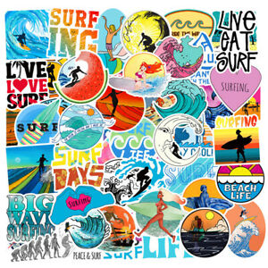 50-SUMMER-Stickers-bomb-Vinyl-Skateboard-Luggage-Laptop-Decals-Dope-Sticker-Lot