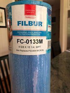 AgréAble Filbur Fc-0133m Filtre De Piscine Spa Filtre Antimicrobien De Remplacement Psg40n-p4-m-afficher Le Titre D'origine