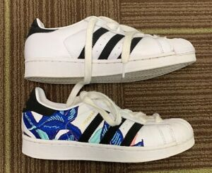 adidas leather shoes size 7 women