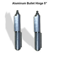 Aluminum Weld Hinge Body Bullet Stainless Steel Bushing/pin With Grease 5 Pair