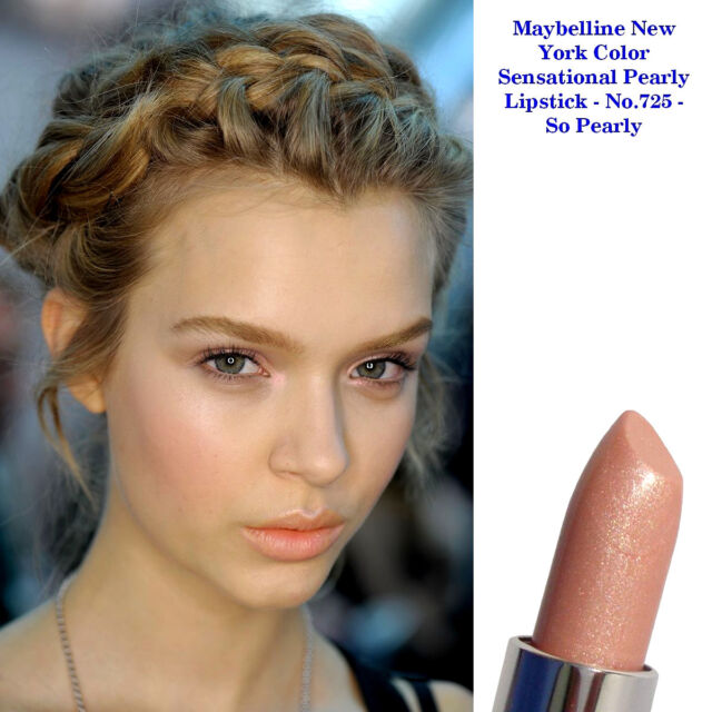maybelline color sensational lipstick # 725 so pearly