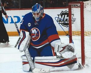 official photos cfbd5 bd7ee Details about Thomas Greiss Signed 8x10 Photo New York Islanders  Autographed COA E