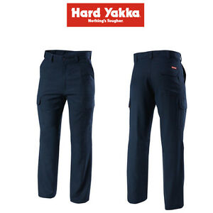 2b4179bbec5c Mens Hard Yakka Protect Tecgen Trousers Cargo Pants Flame Resistant ...