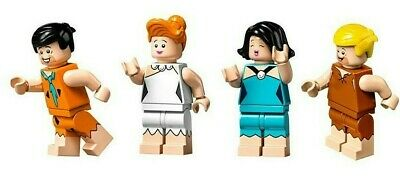 Poder Lego Ideas - The Flintstones 21302 - Choose Your Minifigure - Fred Barney Wilma
