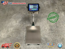 100 Lb X 001 Lb Digital Floor 12x16 Bench Scale Platform 50 Kg X 0004 Kg