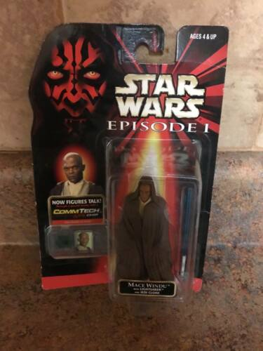 STAR WARS EPISODE 1 MACE WINDU ACTION-FIGURE COLLECTIBLE FIGURINE