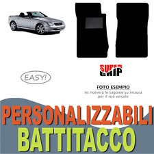 PER MERCEDES CLASSE SLK R170 TAPPETINI AUTO SU MISURA MOQUETTE BATTITACCO | EASY