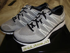 NIKE FREE FLYKNIT HTM SP CHARCOAL WHITE GREY SNOW US 11 UK 10 45 MIX 2013 CHUKKA