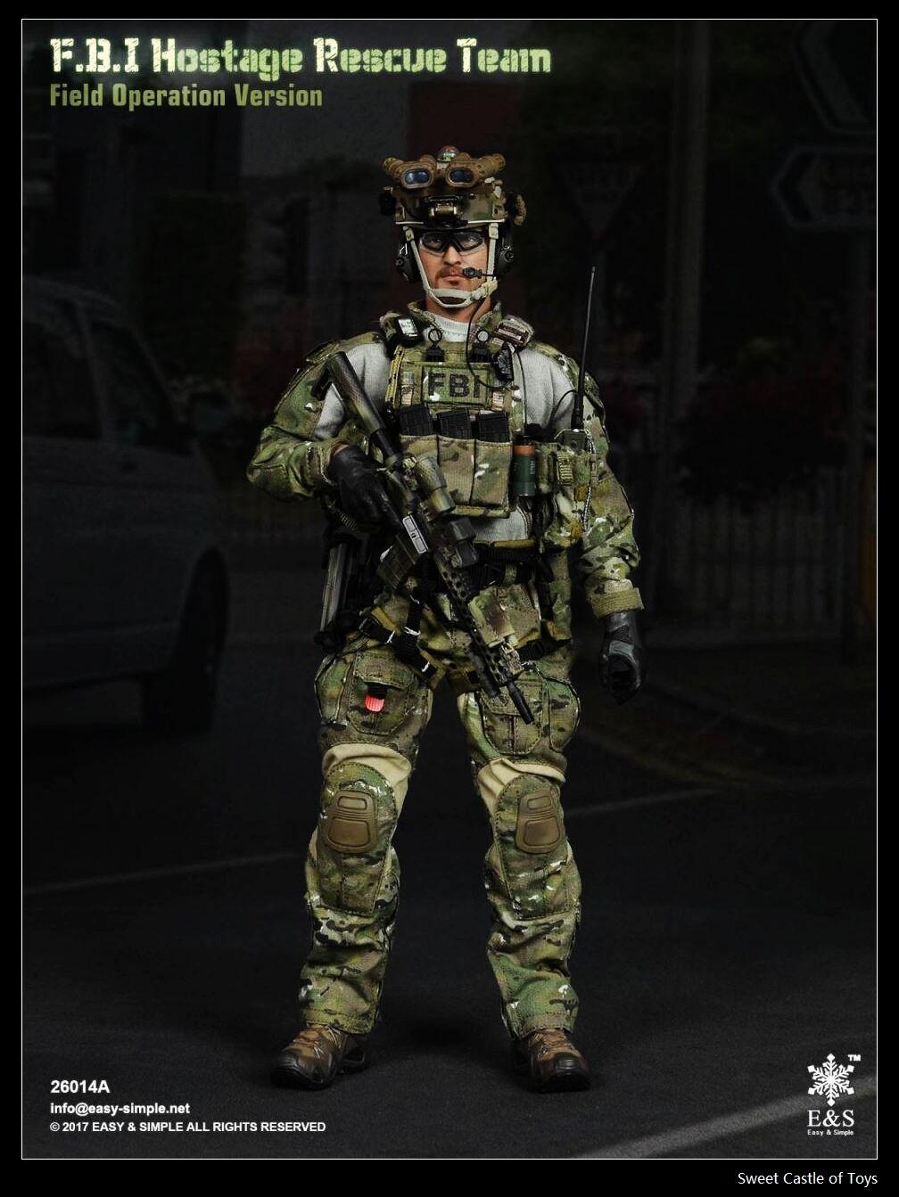 1 6 Easy&Simple ES FBI Hostage Secours équipe Champs Opération Version 26014A