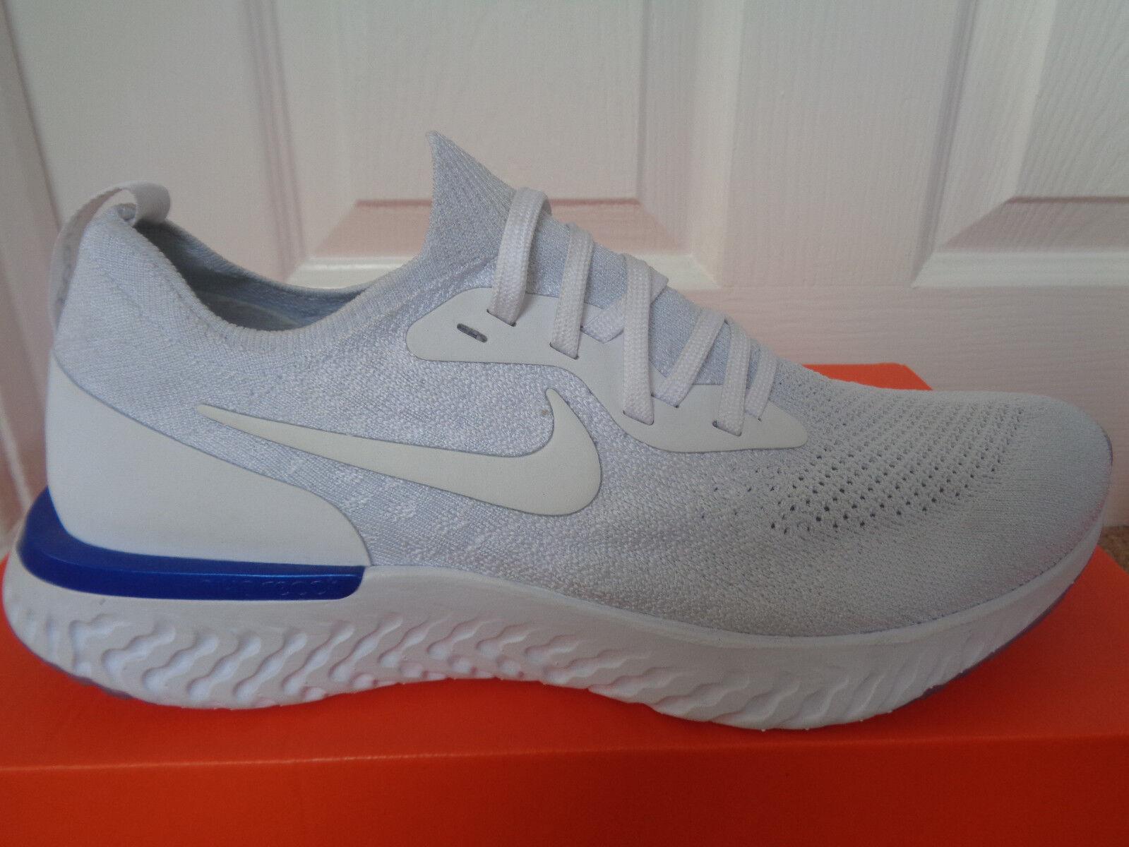 Nike Epic React Flyknit trainers shoes AQ0067 100 eu 43 us 9.5 NEW+BOX