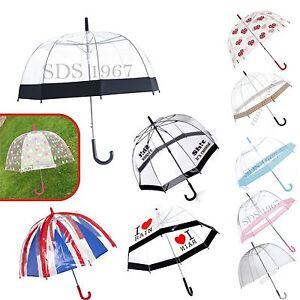Large-31-034-Clear-See-Through-Dome-Umbrella-Ladies-Transparent-Walking-Rain-Brolly