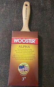 "Lot of 12 Wooster 3/"" Softip Nylon Poly Flat Paint Brush Q3108"