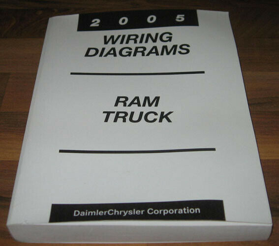 2005 Dodge Ram Truck Electrical Wiring Diagrams Manual St