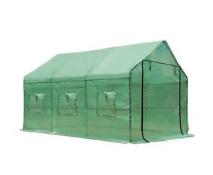 NEW-Greenhouse-Shelves-Large-Walk-In-Green-Hot-Shade-House-Seedling-Sturdy-frame