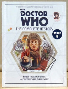 Doctor Who Complete History Issue 6 Volume 22 Robot  *NEW & SEALED*