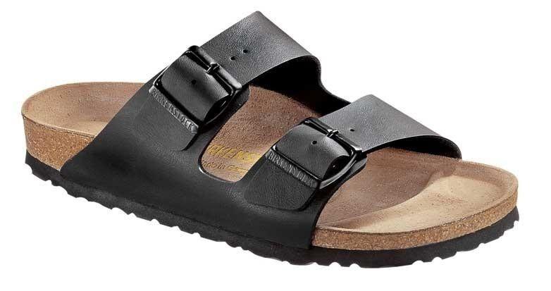 Birkenstock Arizona Pantolette Sandale Farben schwarz weiss braun blau 2 WEITEN