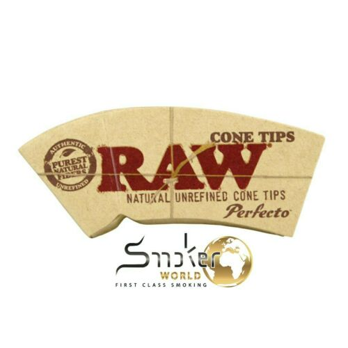 10 x 32 RAW® Cone Tips Perfecto™ CHEMICAL AND CHLORINE FREE Konisch