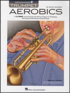2019 Nouveau Style Trompette Aérobic Sheet Music Book/audio 365 Exercices 52 Semaine Workout Programme-afficher Le Titre D'origine Promouvoir La Santé Et GuéRir Les Maladies
