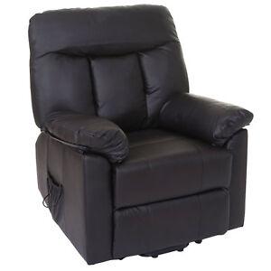 Details Zu Fernsehsessel Toulouse Relaxsessel Liege Sessel Aufstehhilfe Braun