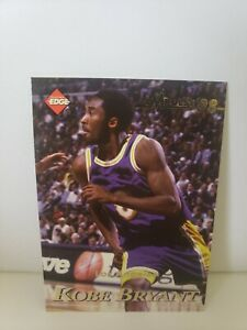 #96 Kobe Bryant 1998 Collectors Edge Impulse Double Sided Al Harrington