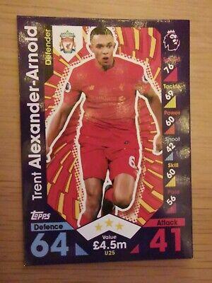 Trent Alexander-Arnold-Liverpool-PP9-2020//21 Match Attax Power Play 20//21