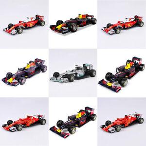 Diecast-Escala-1-43-F1-Red-Bull-Farrari-Race-Car-Model-Bburago-Regalo-De-Coleccion