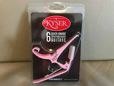 Kyser KG6 Acoustic Guitar Capo Many Colors Available!