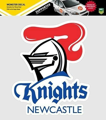 620150 newcastle knights monster decal primary nrl car stickers itag ebay