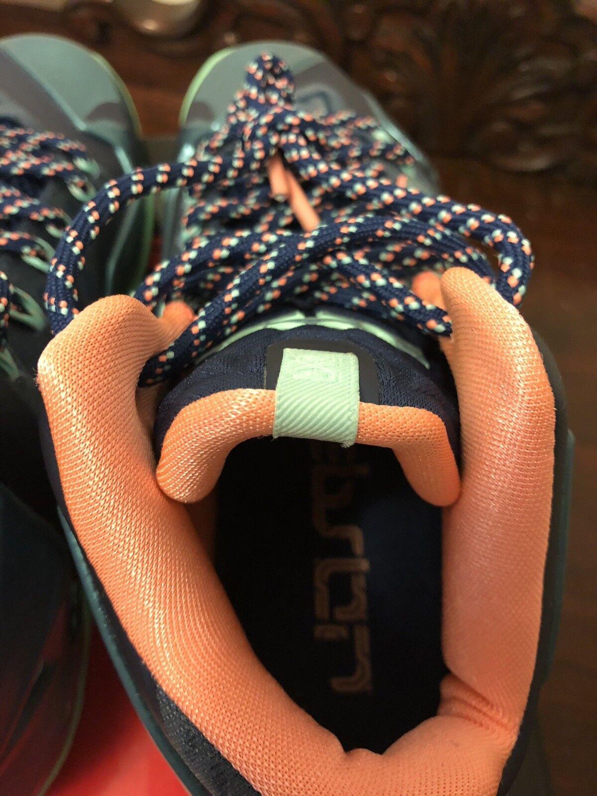 Nike lebron xi magnet gray orange größe größe größe 7 982c39