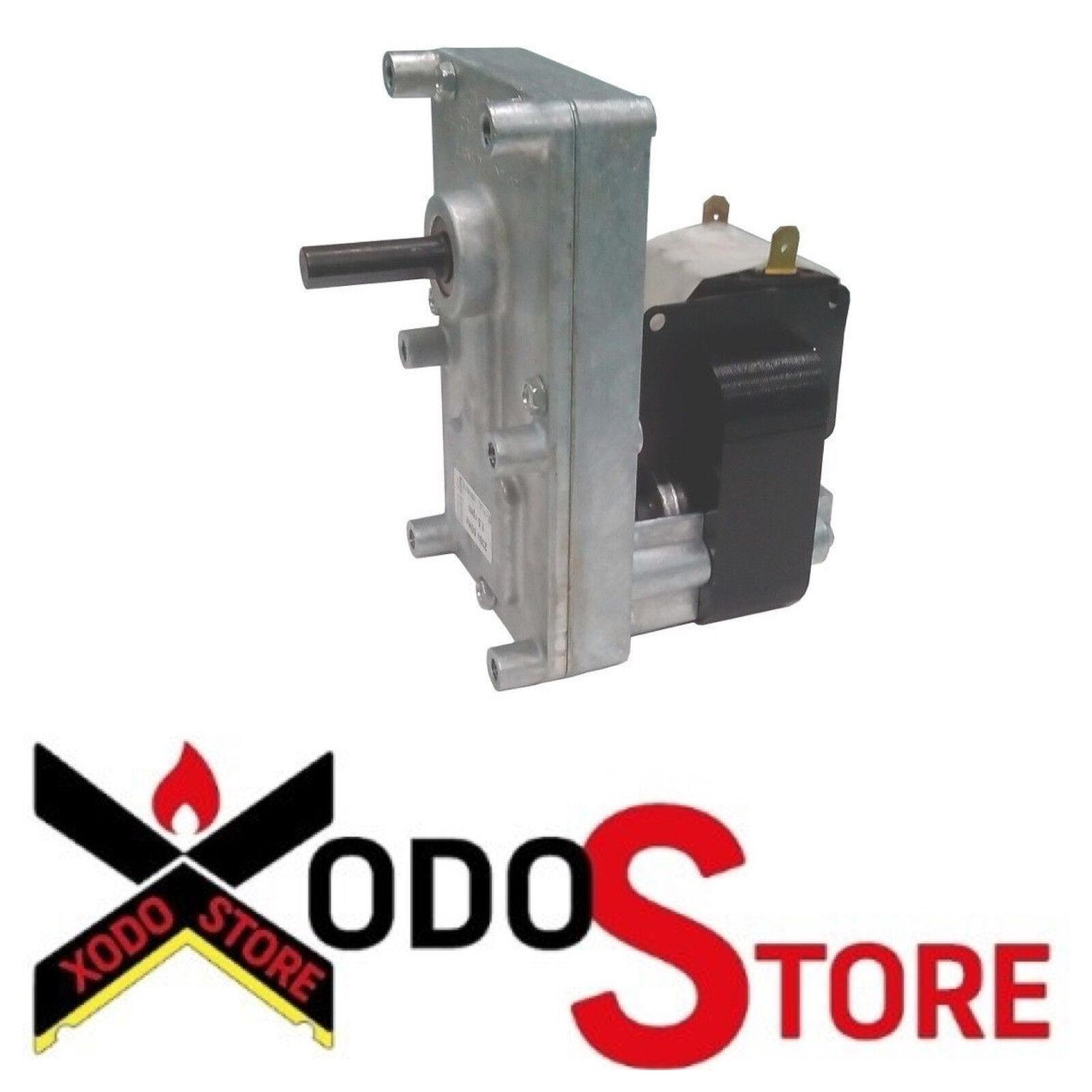 Motoriduttore stufa pellet MONTEGRAPPA T3 1,5 rpm Pacco 25 Albero 9,5 mm FB1171