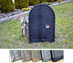 Architectural & Garden thermometer Cast Iron Fire Door Clay Bread Oven Stove Smoke House Dz062 Elegant Shape 39,5x59