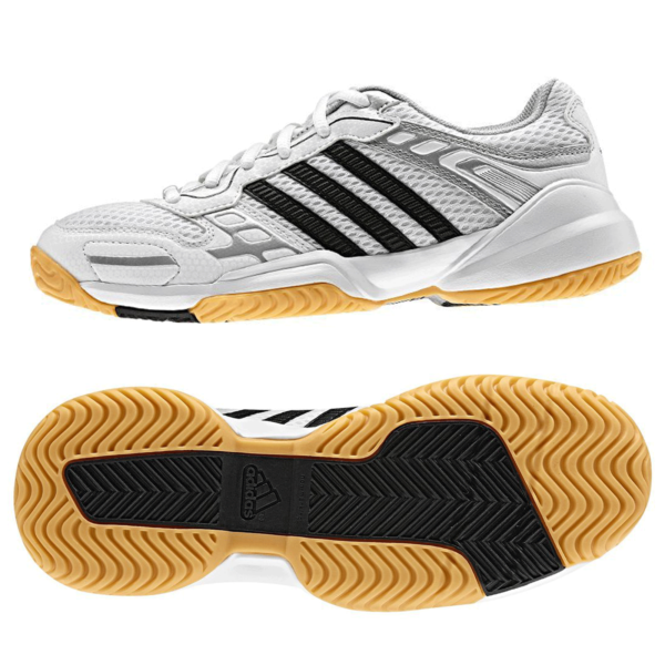 Adidas Opticourt Truster 2 K Bambini Scarpe Per Interni Scuola Sport 28 Nuovo