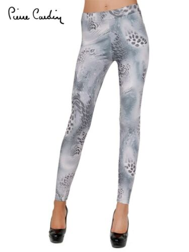 New Womens Pierre Cardin Admeta Patterned Leggings