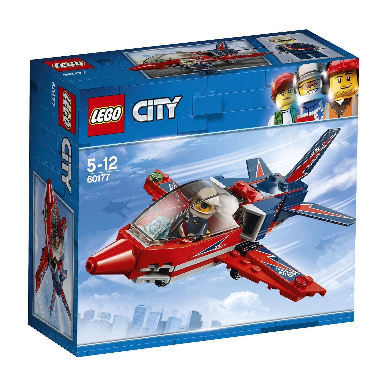 LEGO UK Vehicles - 60177 City Great Vehicles UK Airshow Jet Building Toy e7c2ac