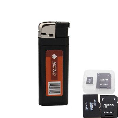 8G Mini DVR HD Camcorder DV Lighter Hidden Pinhole Digital Camera Video Recorder