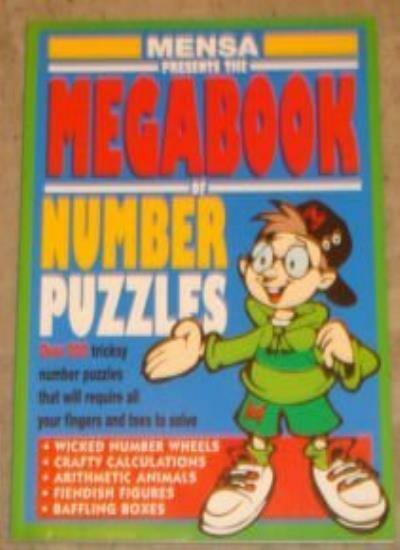Mensa Mega Book Number Puzzles (Information books - quizzes & games),Gale