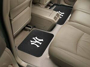 Details about New York Yankees Heavy Duty MLB Floor Mats 2   4 pc Sets for  Cars Trucks   SUV s 9b4bdab5e33