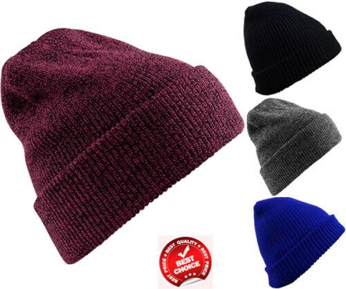 Wollmütze Gestrickt Winter Warm Übergröße Wollig Hängen Herren Damen Skateboard
