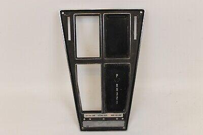 A//C AUTO WITHOUT 1972-1974 CORVETTE AUTOMATIC SHIFT CONSOLE PLATE