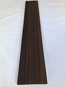 NATURAL WOOD Sheet 900mm x 150mm Fumed Eucalyptus Veneer 35.4 x 5.9 inches