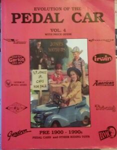 EVOLUTION-OF-THE-PEDAL-CAR-value-guide-collector-039-s-book