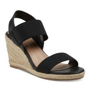 5035af52d7 Merona Women's Janet Elastic Espadrille Wedge Sandals - Size 5.5 ...